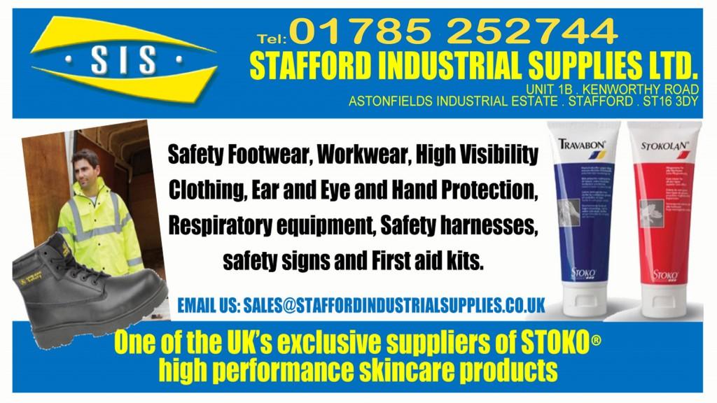 SIS Stafford industrial supplies ltd flyer