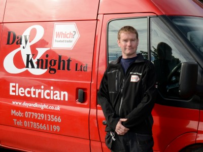Staffordshire domestic electrician | Day and Knight Limited