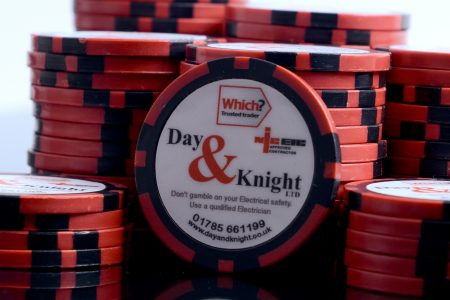 don't gamble with your electrical safety   Day and Knight
