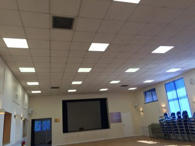 Save Money on Office Lighting with LED Panels Work Complete